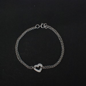 double stranded chip bracelet