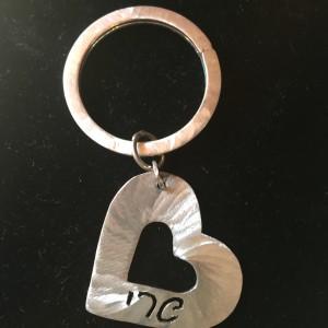 IMG_1055samll classic heart keychain, large, brushed
